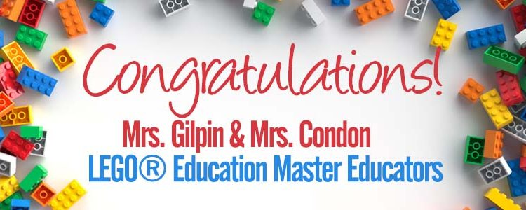 Congratulations Mrs. Gilpin & Mrs. Condon!