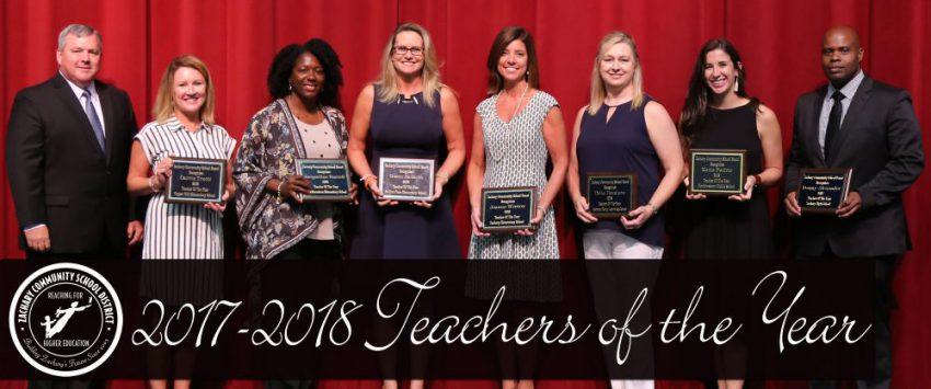 Teachers Of The Year Photo